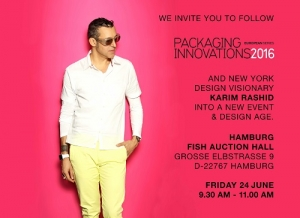 Packaging Innovations gewinnt Karim Rashid als Keynote Speaker