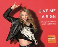Heytex: Setting signs with and for sign media
