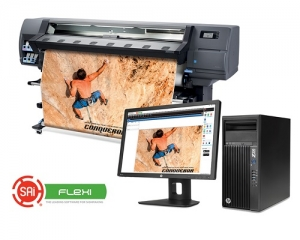SAi announces software certification for latest HP Latex 300 series printers