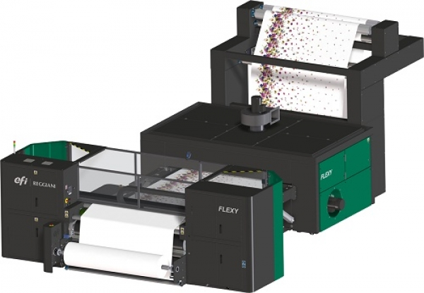 Textile: EFI introduced the industrial textile printer Reggiani ReNOIR FLEXI