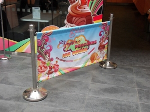 Signage: Sihl introduced new products for advertising and POS
