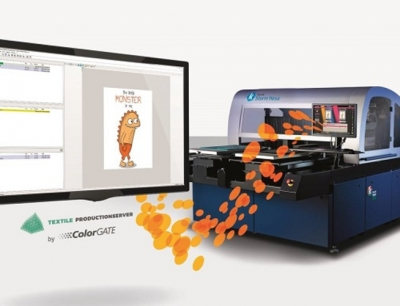 Textile: ColorGATE RIP solution to be tailored to Kornit systems