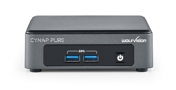 WolfVision: Neues BYOD-Präsentationssystem Cynap Pure Pro